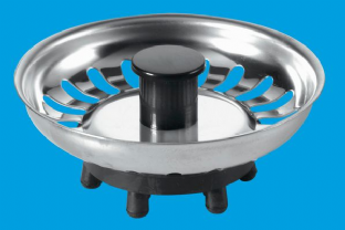 McAlpine - BSKTOP Basket Strainer Waste (Stainless Steel)